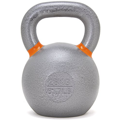 Solid Cast Iron Kettlebell by OneFitWonder / Strength Training & Conditioning Equipment (28)