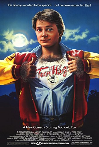 Teen Wolf Michael J Fox Movie Poster