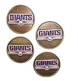 New York GiantsNFL Golf Ball Markers (4 Pack)