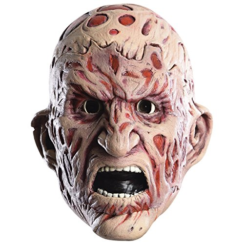 Rubie's Men's Nightmare On Elm Street Adult Freddy Double Tear-Away Mask, Multi, One Size ()