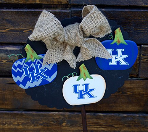 Kentucky Wildcat Decorative Pumpkin Magnets - Set of - Wreath Kentucky Wildcats