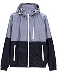 Men's Spring Casual Light Jacket with Hood