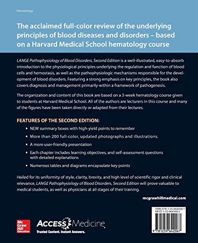Pathophysiology of Blood Disorders, Second Edition - http://medicalbooks.filipinodoctors.org