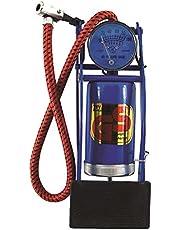 Bomba pedal com manômetro, Eda, 2WF, Preto