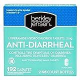 Berkley Jensen Anti-Diarrheal Medicine Loperamide Hydrochloride Tablets 2 mg 192 Capletsper Order