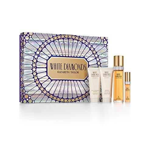 Elizabeth Taylor White Diamonds Gift Set, 9.9 Fluid Ounce - Elizabeth Taylor White Diamonds Perfumed Body Cream