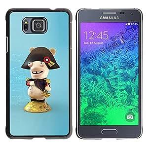 "For Samsung Galaxy Alpha G850 , S-type Figura divertida"" - Arte & diseño plástico duro Fundas Cover Cubre Hard Case Cover"