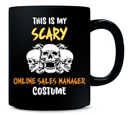 This Is My Scary Online Sales Manager Costume Halloween Gift - Mug