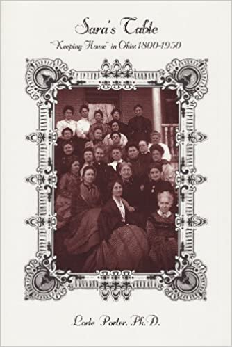 Amazon in: Buy Sara's table: keeping house in Ohio, 1800