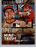 #9: 2018 Topps MLB Opening Day Blue #OD-8 Mike Trout NM-MT Angels