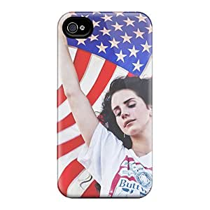 Iphone 4/4s VTM12238SKWO Allow Personal Design Attractive Lana Del Rey Ride Pattern Protective Phone Covers -KerryParsons