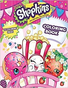 Coloring Book: Shopkins