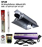 SPL Horticulture 600 Watt Grow Light Digital Dimmable HPS Mh System for Plants Double Ended Compat Reflector Set 600watt Kit Review