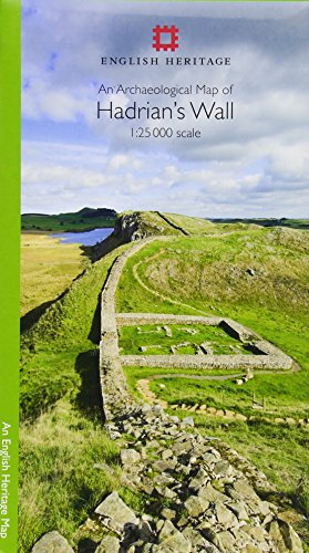 An Archaeological Map of Hadrian's Wall: 1:25 000 Scale