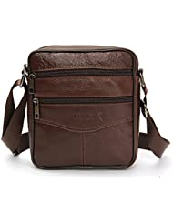 OURBAG Casual Men Vintage Shoulder Bag Messenger Crossbody Bags Handbag