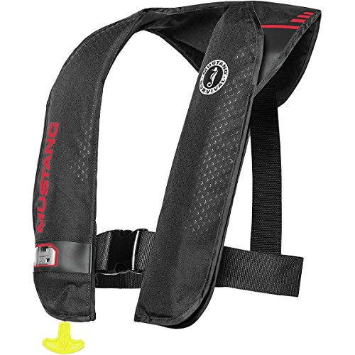 (Mustang Survival M.I.T. 100 Inflatable PFD Black/Red)