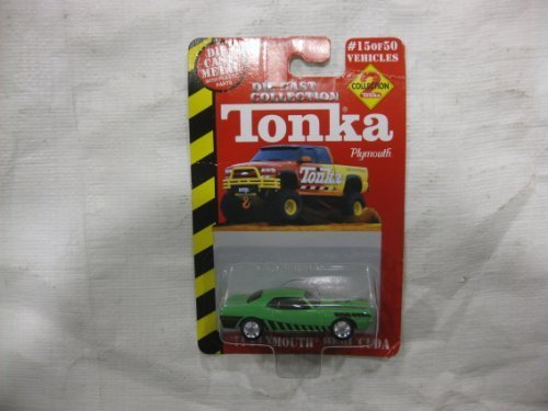 TONKA DIE CAST COLLECTION -- Collection #2 Green '71 Plymouth HEMI 'Cuda (#15 of 50 Vehicles) by Racing Champions