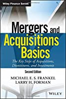 Mergers and Acquisitions Basics, 2nd Edition Front Cover