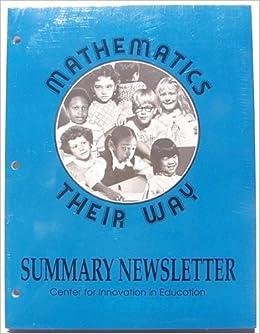 Mathematics Their Way Summary Newsletter: Amazon.es: Cynthia Garland, Kim Hix: Libros
