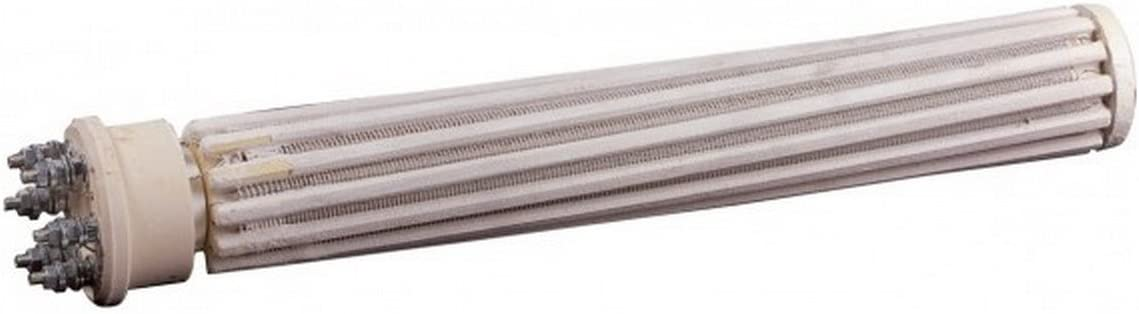 Heizelement Steatit Standard Keramikheizelement /Ø32mm einteilige Ummantelung 1500