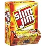 Slim Jim Smoked Snacks - 0.28 oz 120 Count (Pack of 2)