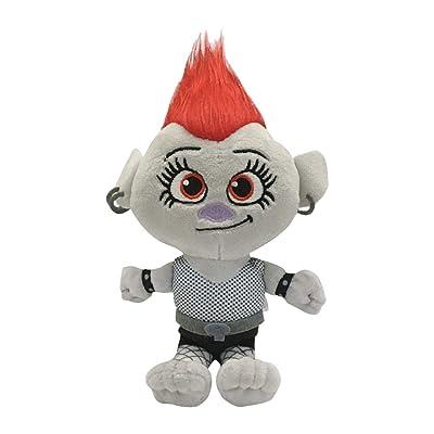 Bulex Trolls World Tour Trolls Dolls-Queen Brab Plush Dolls: Toys & Games