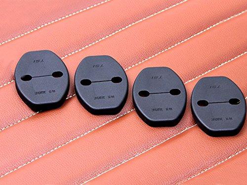 High Flying 4/pcs Plastique Verrou de porte Housse de protection Shield Coque Trim pour accessoire Auto Vwtroc