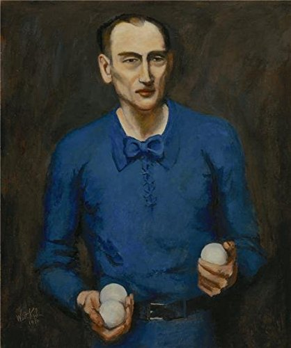'Walt Kuhn,Juggler,1934' Oil Painting, 24x29 Inch / 61x73 Cm ,printed On High Quality Polyster Canvas ,this High Resolution Art Decorative Canvas Prints Is Perfectly Suitalbe For Home Theater Gallery Art -