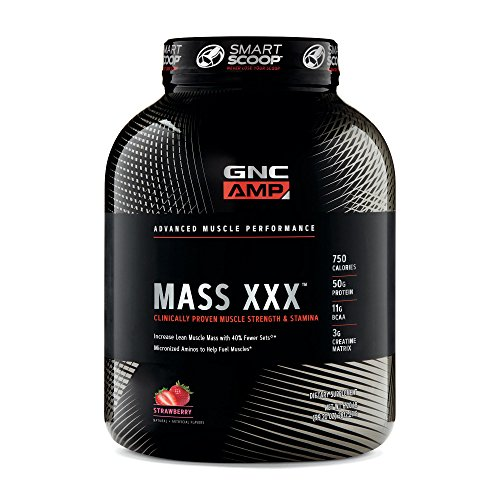 GNC AMP Amplified Mass XXX- Strawberry
