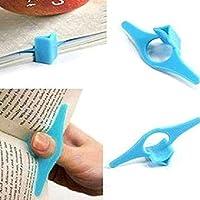 Estes. EL Marque-page doigt Bague signets pratique Outil de lecture papeterie cadeaux pouce livre support