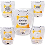Sky Lanterns, Fly Sky Wish Paper, 100% Biodegradable,New Designed Environmentally Fly Paper,Great for Birthdays, Holidays, Memorials (5 Pack)