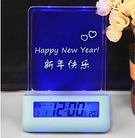 Sweet foros fluorescente reloj alarma luminosa confesión de ...