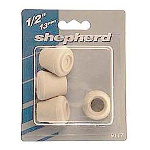 Tip Furniture Leg 1/2in Black by Shepherd by Shepherd