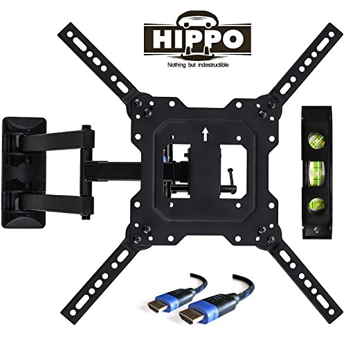 HIPPO TV Wall Mount Bracket with Full Motion Swing Out Tilt