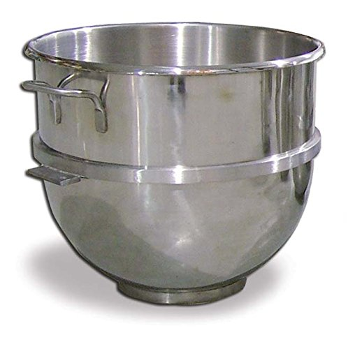 Omcan 14249 80 Qt Stainless Steel Mixing Bowl For Hobart Mixer ()
