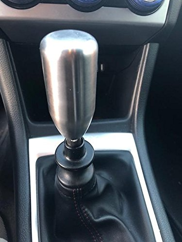 GetUrGear Custom Direct Fit Weighted Shift Knob for WRX/STI  2011-2014/2015-2018 (500grams / 17 637oz) (Metal)