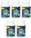 Ibuprofen Liquid Softgels 200mg, Kirkland Signature JJnCnQ Brand, 180 Capsules (5 Pack)