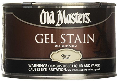 (Old Masters 80308 Oil Based Gel Stain 1-pint Cherry)