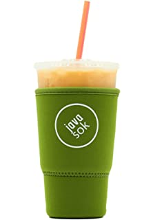 Amazon.com: JAVA SOK Reutilizable Soda Cup Sleeve - Funda ...