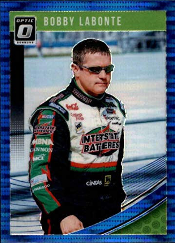 2019 Donruss Optic Blue Pulsar #54 Bobby Labonte Interstate Batteries/Joe Gibbs Racing/Pontiac Racing Trading Card