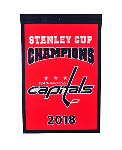 Washington Capitals Locker Room - Washington Capitals 2018 NHL Stanley Cup Champions Champs Banner