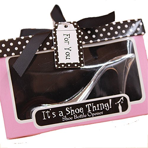 (Bottle Opener High-Heeled Shoes Design 20 Set Wedding Favors Party Gifts for Guest Thank You Gift and Supplies Bulk)