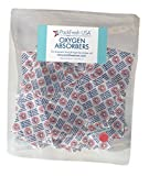 300cc Oxygen Absorbers for Long Term Food Storage - 50 with PackFreshUSA LTFS Guide
