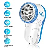Electric Clothes Lint Remover, USB Rechargeable Fabric Shaver by AW Union, Remove Fluff