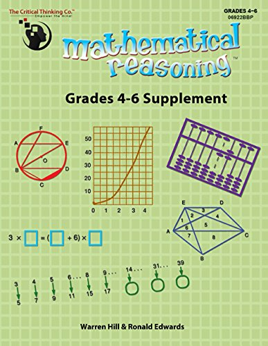 Mathematical Reasoning, Grades 4-6 Supplement