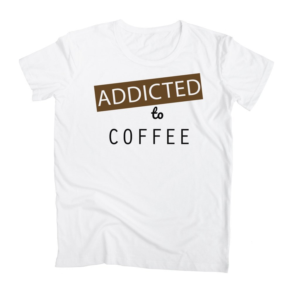 graphke Addicted to Coffee Mens T-Shirt