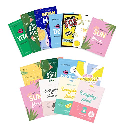 FaceTory Best of Seven Collection with Oily Skin Type Mask Collection