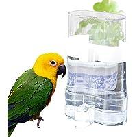 Wuudi Alimentation Automatique Nourriture pour Oiseaux Mangeoire à graines Bird Distributeur de Nourriture et d'eau Distribue l'eau pour Parrot