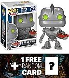 The Iron Giant w/ Car: Funko POP! x The Iron Giant Vinyl Figure + 1 FREE Sci-fi Movies Trading Card Bundle [64129]
