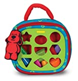 Toys : Melissa & Doug K's Kids Take-Along Shape Sorter Baby Toy With 2-Sided Activity Bag and 9 Textured Shape Blocks